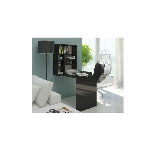 Biurko Smart- czarny mat/ czarny połysk (5903018210308)