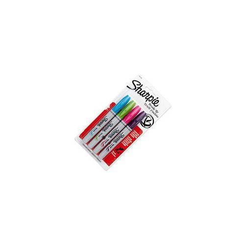 Sharpie sanford brands Sharpie brush markery permanentne 4 kol fash