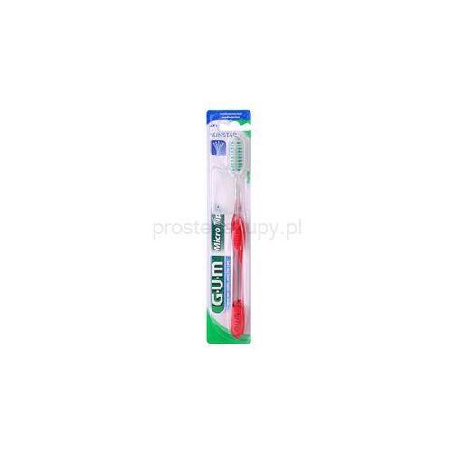 micro tip regular szczoteczka do zębów medium + do każdego zamówienia upominek. marki G.u.m