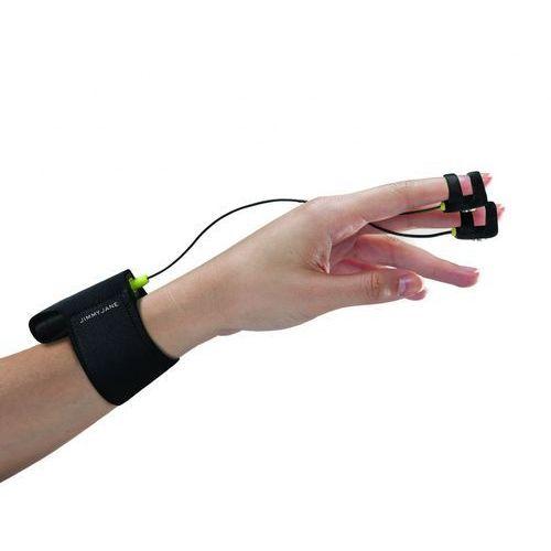 Wibrator na palce z elektrostymulacją - Jimmyjane Hello Touch Finger Vibrator X Black