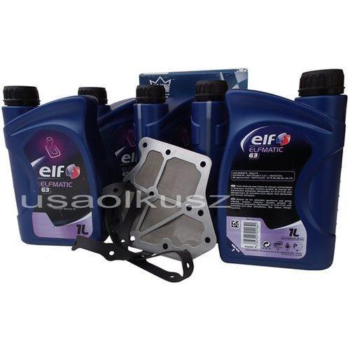 Filtr oraz olej ELF ATF-III automatycznej skrzyni biegów Nissan Maxima 3,0 -1997