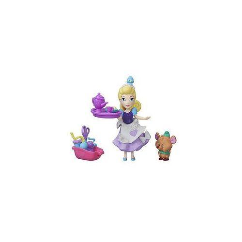 Hasbro Dpr mini laleczka z przyjacielem kopciuszek