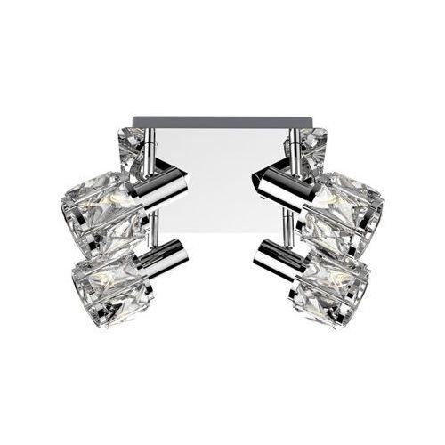 Zuma line niasa ck20181015-4 plafon lampa sufitowa 4x40w e14 chrom/transparentny (2011006536231)