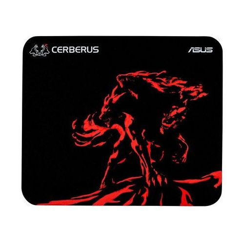 Podkładka ASUS ROG Cerberus Mat Mini Czarno-czerwony (90YH01C3-BDUA00) (4712900829730)