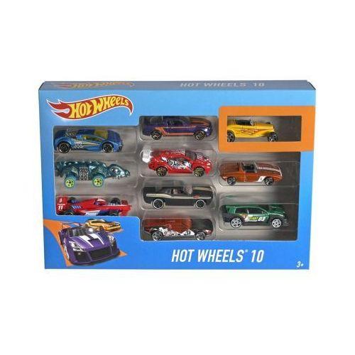 Hot Wheels - Dziesięciopak 54886 - produkt z kategorii- Autobusy zabawki