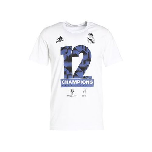 adidas Performance REAL MADRID UEFA CHAMPIONS LEAGUE Artykuły kibica white
