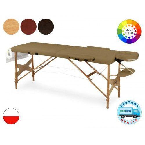 Składany stół do masażu Doplo LM2 drewniany z regulacją wysokości LM2