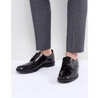 leather studded brogue shoes - black marki Zign