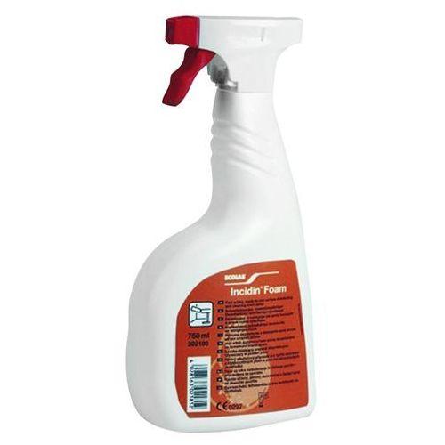Ecolab incidin foam (piana) do szybkiej dezynfekcji 750ml (4028163056265)