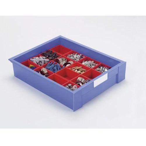 Häner Wkładana skrzynka do szuflady, dł. x szer. x wys. 160x106x54 mm, opak. 8 szt., c