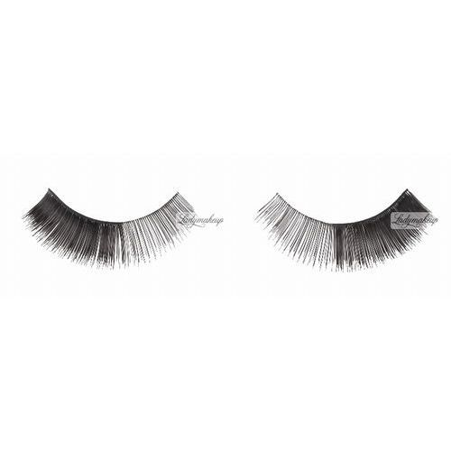 - flutter eyes - false eyelashes - sztuczne rzęsy na pasku + klej - 01 marki W7