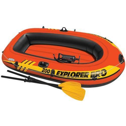 Intex  explorer pro 200 ponton z wiosłami i pompką