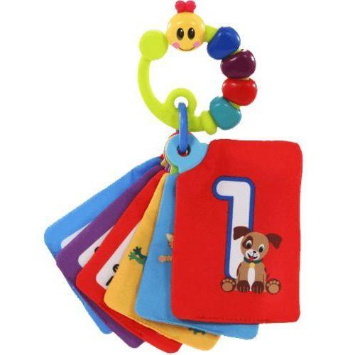 BRIGHT STARTS Karty do zabawy i nauki Take Along Discovery Cards™ cyferki 0m+ z kategorii Pozostałe zabawki edukacyjne