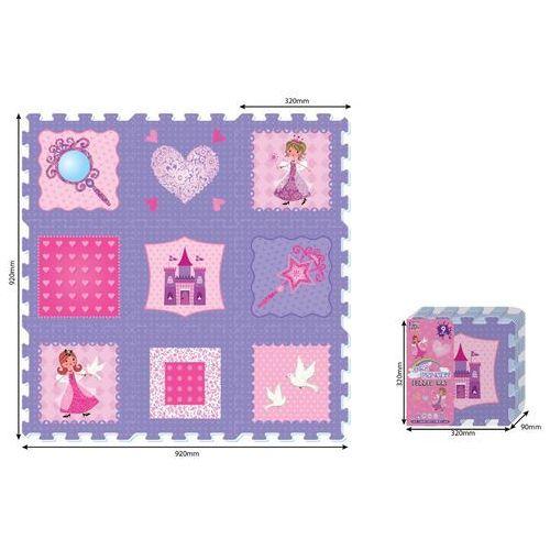 Artyk Puzzle piankowe 9 elementów - księżniczki - darmowa dostawa od 199 zł!!! (5901811112379)