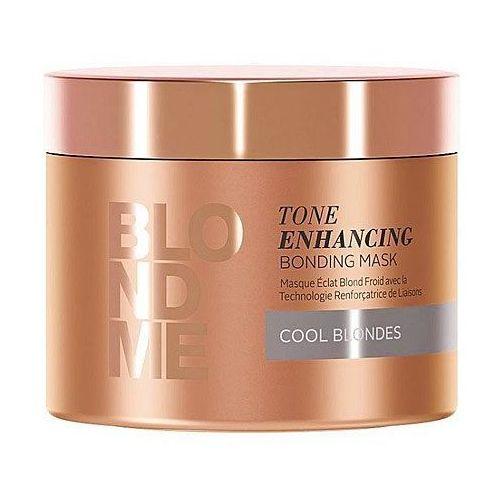 blondme odżywcza maska do włosów do zimnych odcieni blond (tone enhancing bonding mask) 200 ml marki Schwarzkopf professional