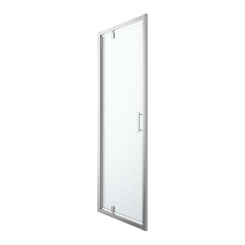 Drzwi prysznicowe wahadłowe beloya 80 cm chrom/transparentne marki Goodhome