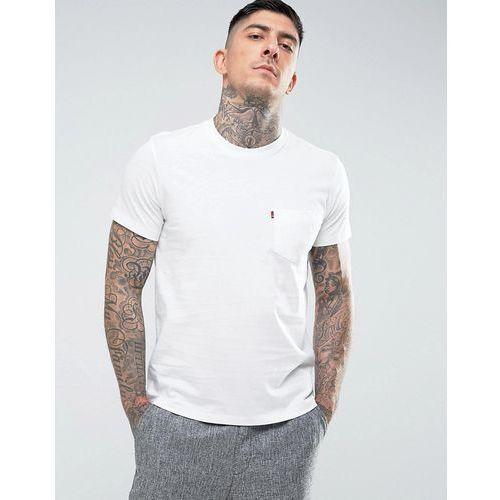 Levi's sunset pocket t-shirt whitesmoke - White, w 2 rozmiarach