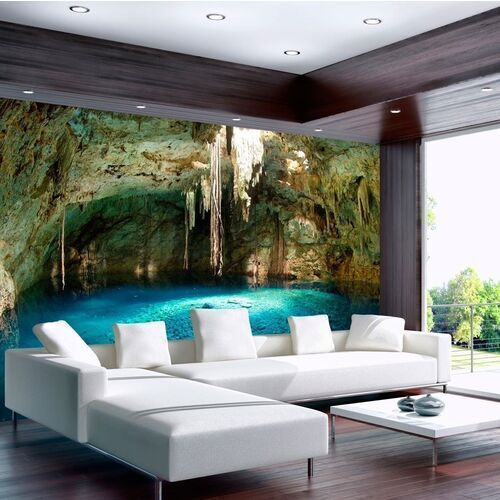 Artgeist Fototapeta - stalaktytowa grota
