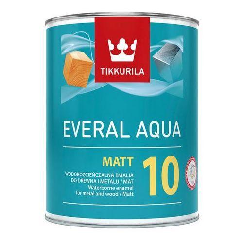 Tikkurila everal aqua matt 10 baza a 0,9l (6408070075326)