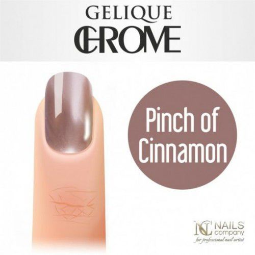 Nc nails company Nails company gelique chrome - kolor pinch of cinnamon 6 ml
