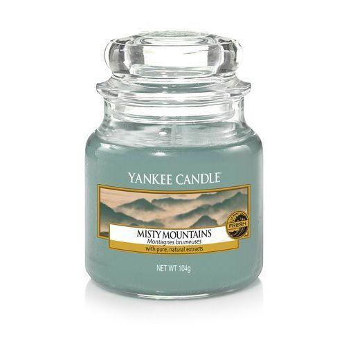 Yankee candle Świeca zapachowa misty mountains, słoik mały