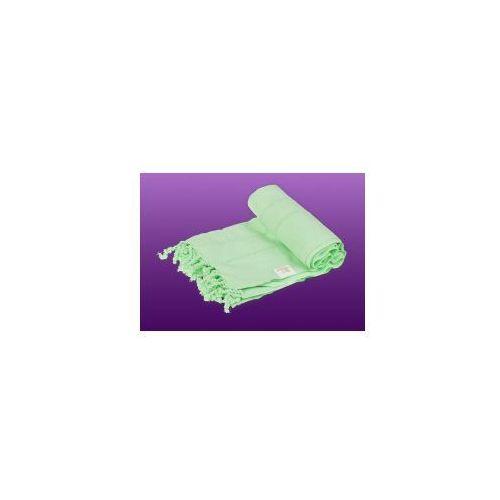 Sauna ręcznik hammam 100%bawełna 185/90 ajur 1 zielony marki Import