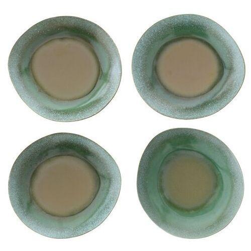 Hk living Hkliving talerz obiadowy ceramiczny zielony 70's (zestaw 2 szt.) ace6037 (8718921010627)