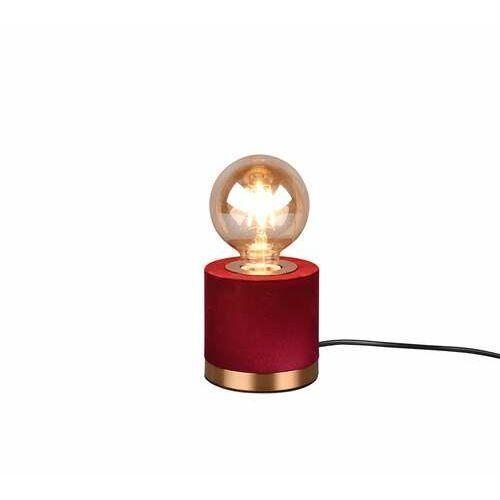 Trio RL Judy R50691010 lampa stołowa lampka 1x40W E27 czerwona/brązowa
