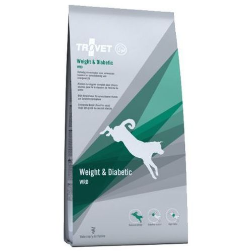 Trovet  wrd weight & diabetic dla psa 3kg (8716811000444)