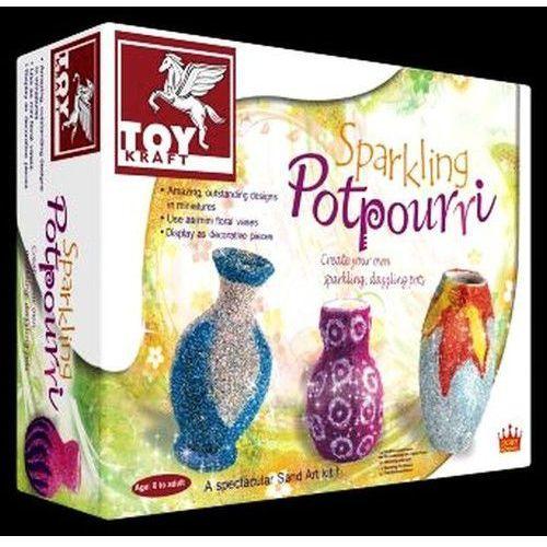 Toy kraft Dekoracyjne dzbanuszki sparkling potpourri (8906022394122)