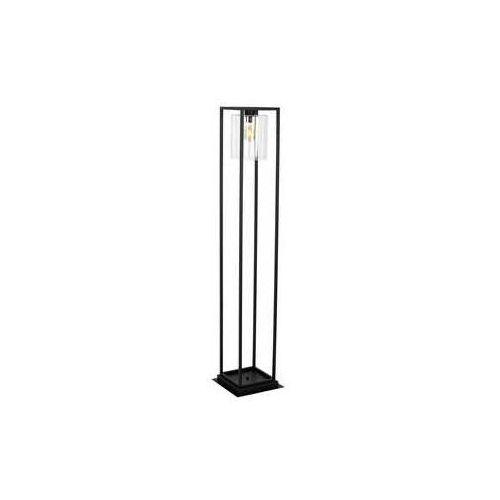 Luminex simplex 1002 lampa stojąca podłogowa 1x60w e27 czarny (5907565910025)
