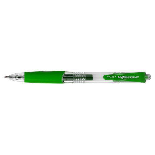 Długopis żelowy Toma Mastership TO-077 zielony