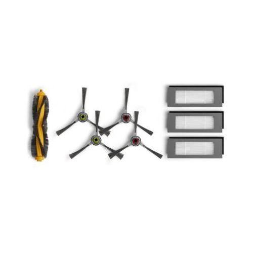 Robot odkurzacz - szczotki boczne 4 szt.,szczotka główna, 3 x filtr, dd4g-kta do ecovacs ozmo 610 marki Ecovacs
