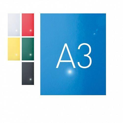Okładki do bindowania A3 karton błyszczący niebieski O.Exclusive 100szt. OPUS