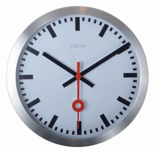 NeXtime - zegar ścienny Station 19 cm