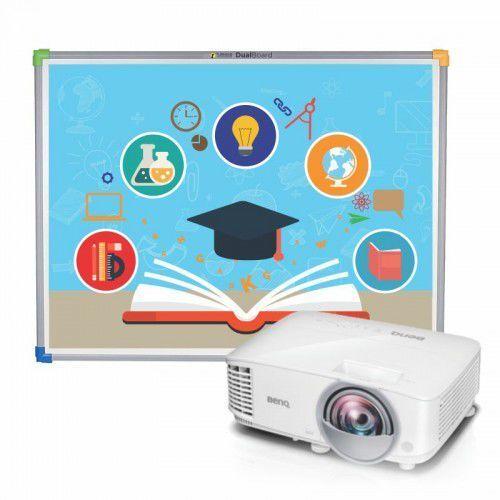 Interwrite Tablica dualboard 1279 + projektor benq mx808st + uchwyt