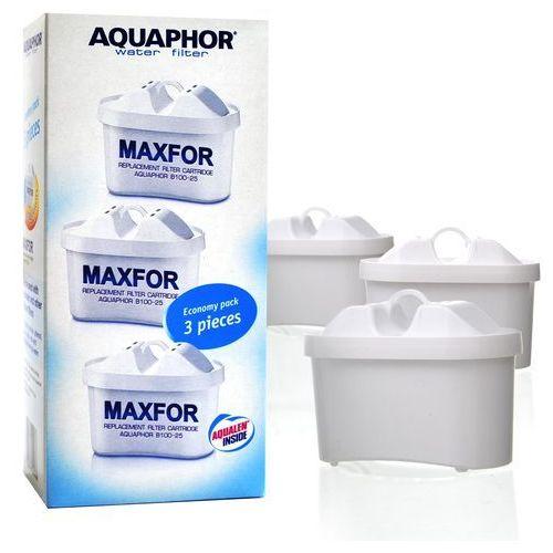 Aquaphor Wkład filtrujący b100-25 maxfor 3 sztuki + zamów z dostawą jutro!