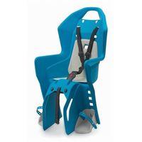 Fotelik rowerowy na bagażnik koolah rms - niebiesko/kremowy marki Polisport