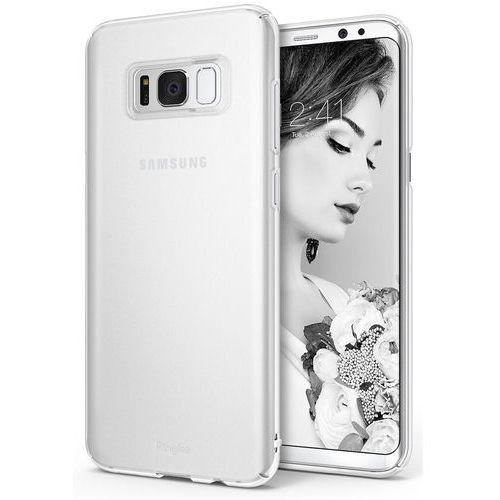 Etui Ringke Slim Samsung Galaxy S8 Plus Frost White (8809525015719)
