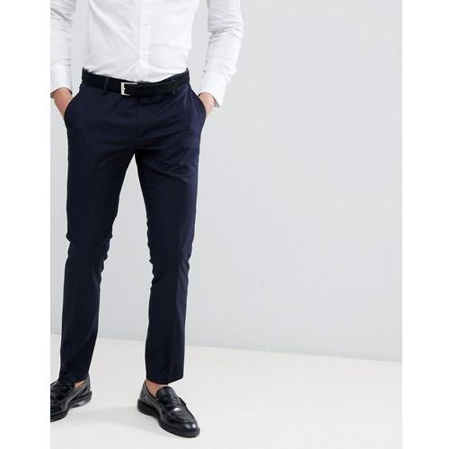 slim fit suit trouser in navy - navy marki Antony morato
