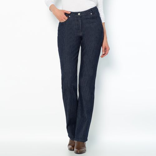 Jeansy denim stretch, wewn. dł. nogawki. 73 cm