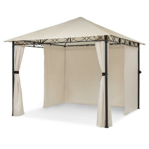 Blumfeldt Mondo, pawilon ogrodowy/namiot imprezowy, 295 x 262 x 295 cm, stal, poliester, beżowy (4060656226939)