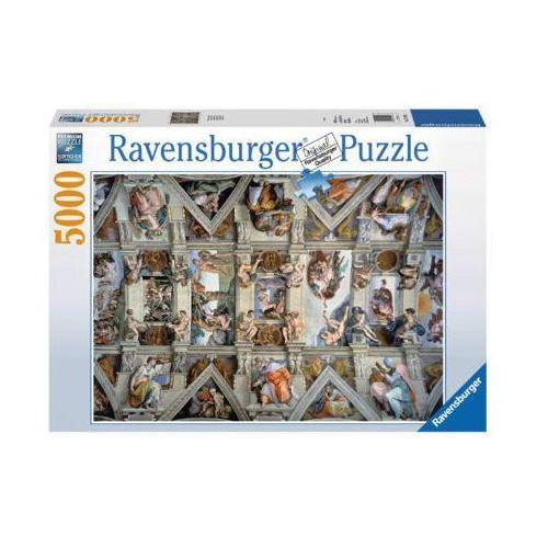 Ravensburger Raven. 5000 el. kaplica sykstyńska (4005556174294)