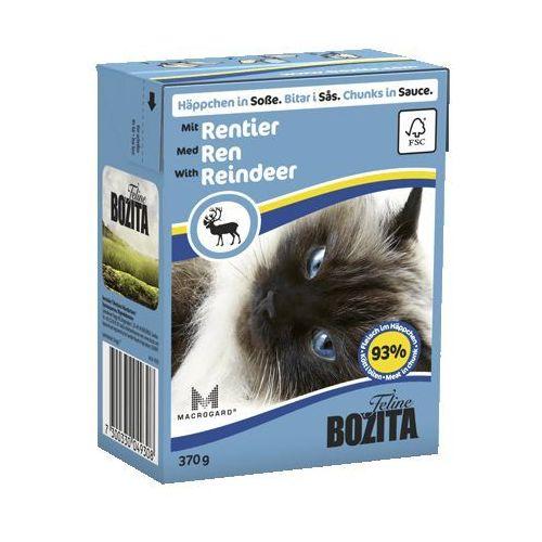 Bozita  renifer w sosie dla kota (rentier) 370g