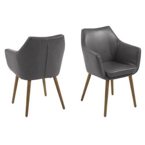 Krzesło Nora Grey PU (5705994909043)