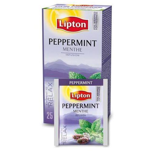 Herbata Lipton Peppermint - Mięta 25 szt. koperty (8722700587194)