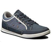Sneakersy GINO LANETTI - MP07-15104-02 Granatowy, kolor niebieski