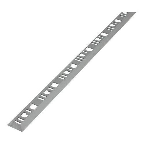 Profil aluminiowy narożny Diall 12,5 mm typ L srebrny mat 2,5 m (3663602912026)