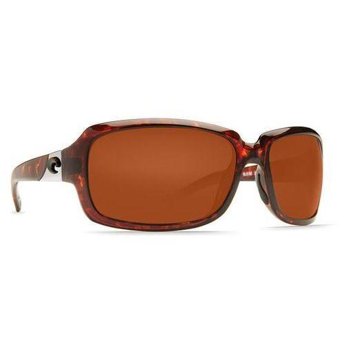 Okulary Słoneczne Costa Del Mar Isabela Readers Polarized IB 10 OCP, kolor żółty