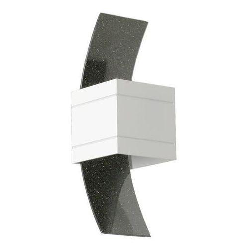 Lampex Kinkiet vitrum b biały - biały